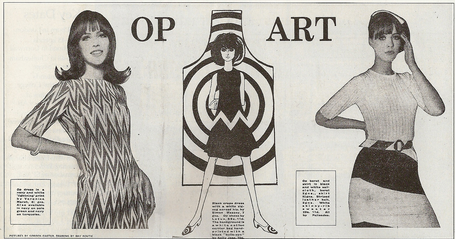 Op Art in Fashion and Design.uk.uk 7
