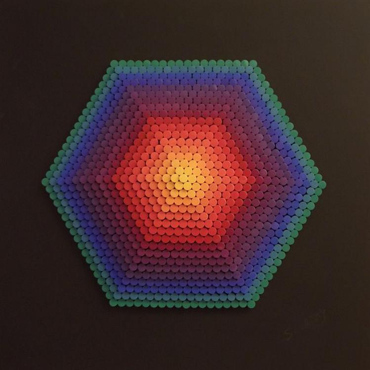 #279 Dowel Hexagon