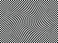 Op Art Moving Squares One