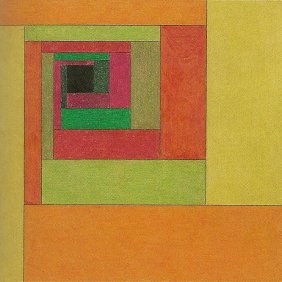 Etudes Bauhaus C - Victor Vasarely 1929 Oil on board 23x23cm 