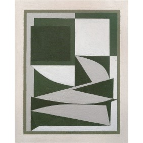 Ezinor - Victor Vasarely 1949 Oil on board 38x30cm 