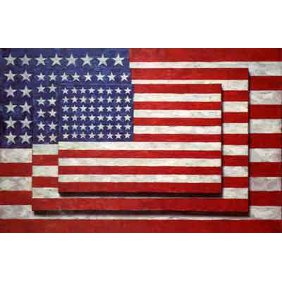 Three Flags - 1958 Jasper Johns