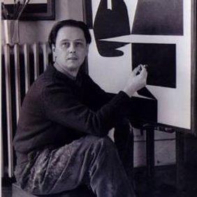 Victor Vasarely at work in 1948