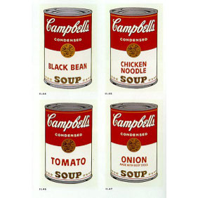 Campbells Soup - 1968 Andy Warhol