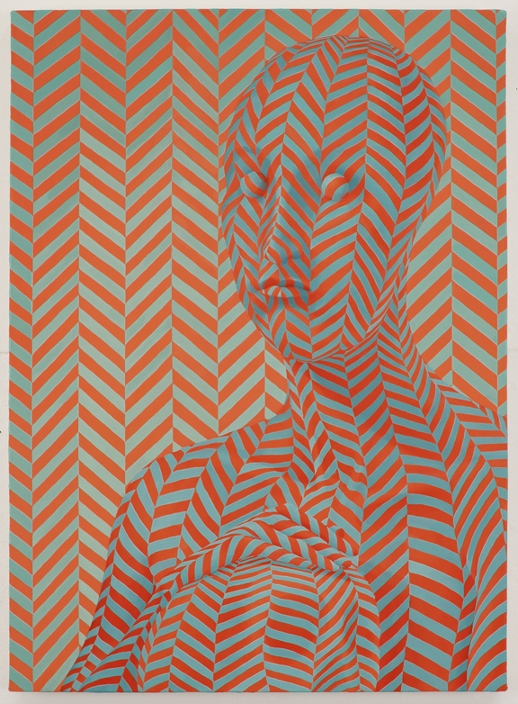 Untitled (icy spicy) 2011 Sascha Braunig - Oil on Canvas over wood panel 66x48.3cm