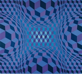 victor vasarely Cheyt-Stri